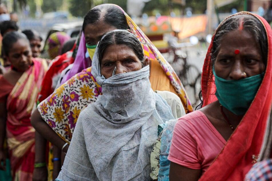 In Indien sind über 4 Millionen Menschen mit dem Coronavirus infiziert.