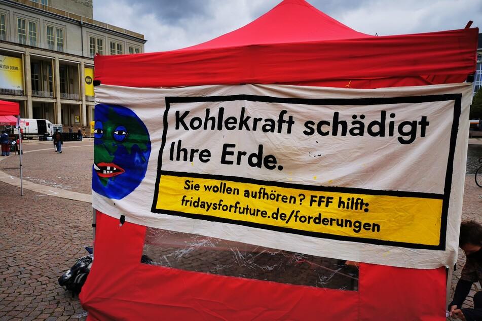 Leipzig: Globaler Klimastreik in Leipzig: Aktivisten demonstrieren für Verkehrswende