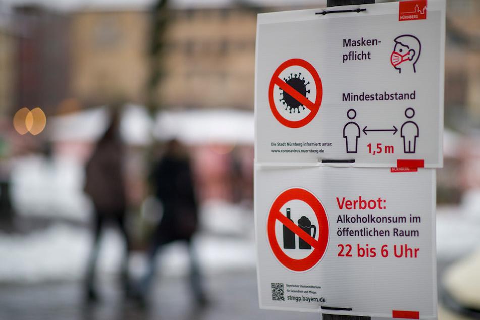 Umfrage: So viele Bayern bezweifeln die Wirksamkeit der Corona-Maßnahmen