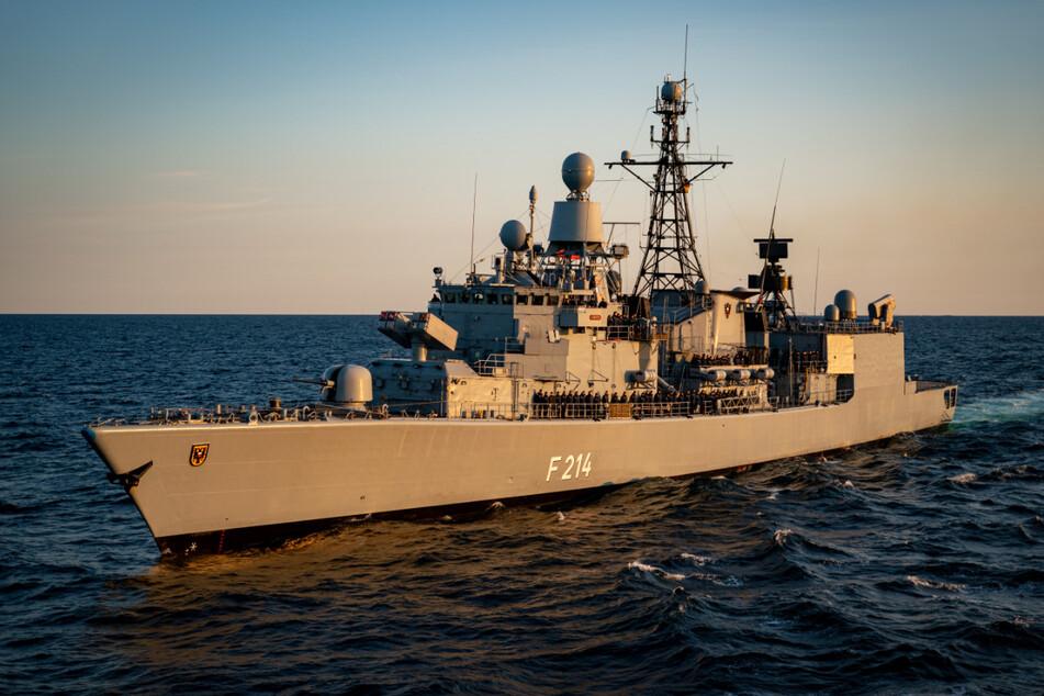 Deutsches Kriegsschiff bricht zu Nato-Einsatz in der Ägäis auf