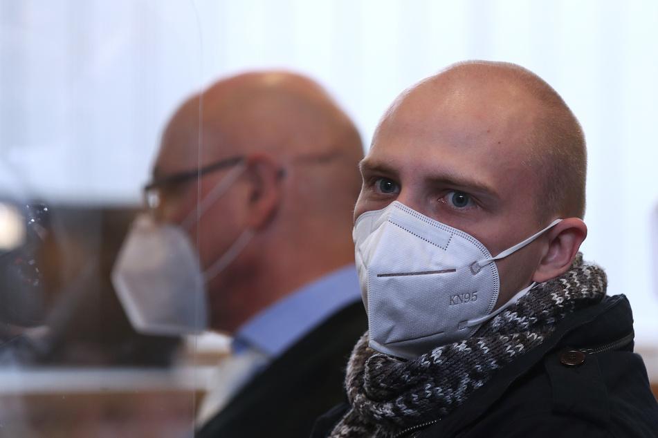 Stephan Balliet (28, r.) werden 13 Straftaten vorgeworfen, unter anderem Mord und versuchten Mord.