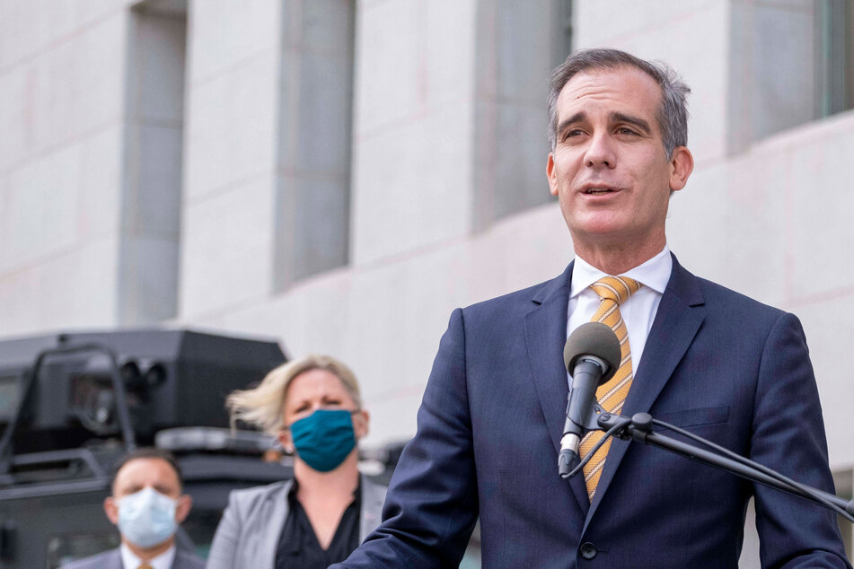 Eric Garcetti of LA is one of 41 members of the Mayors for a Guaranteed Income network.