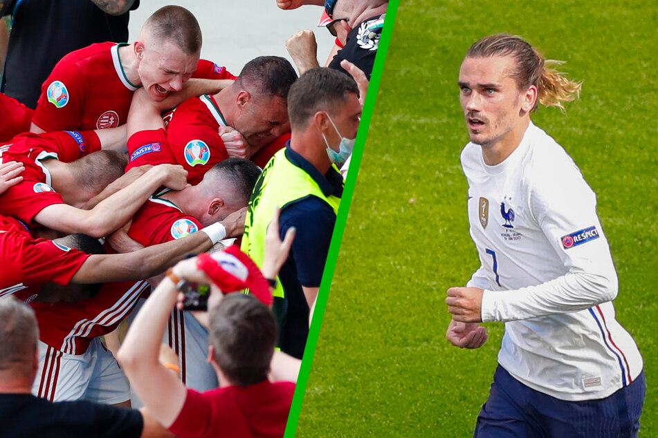 EM-Sensation! Ungarn ärgert Weltmeister Frankreich, Griezmann verhindert die Blamage