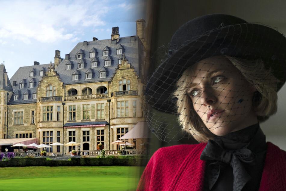 Hollywood in Deutschland: Schlosshotel ist Kulisse für Film über Prinzessin Diana