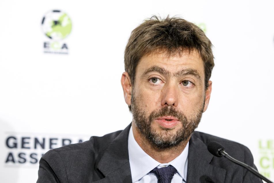 Juve-Boss Andrea Agnelli (45). SO ganz abgeschlossen hat er mit der Super League noch nicht.