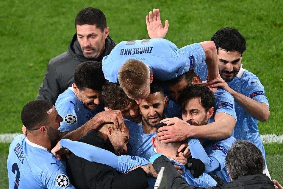 Nach dem erneuten 2:1-Sieg zog Manchester City - insgesamt verdient - ins Champions-League-Halbfinale ein und trifft dort auf den FC Paris Saint-Germain.
