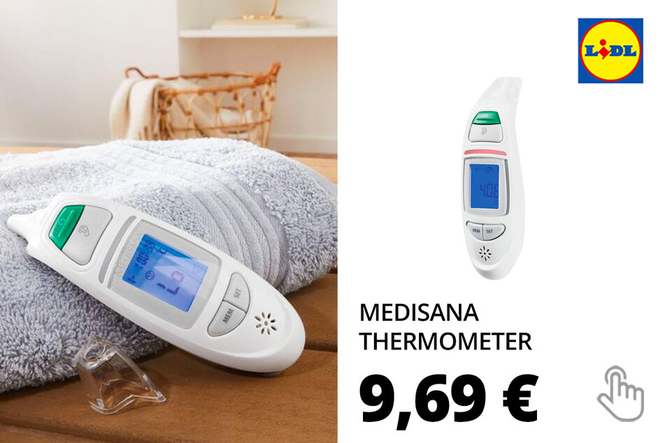 MEDISANA Multifunktions-Thermometer »TM A75«