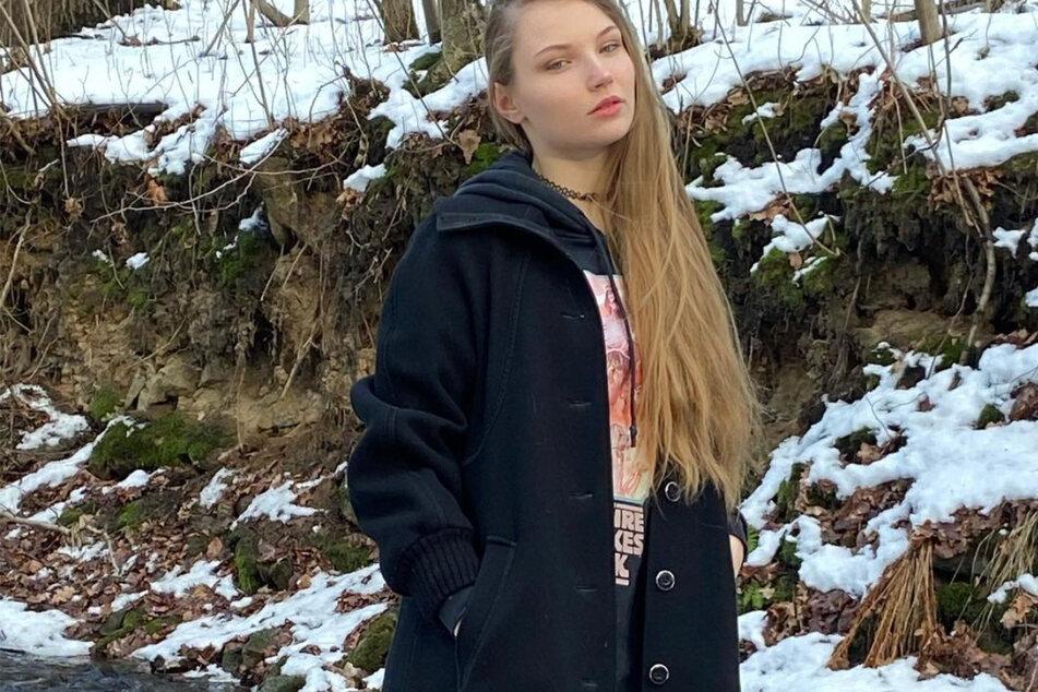 """Romy Wolf (19) kämpft derzeit um den Titel """"Germany's next Topmodel""""."""
