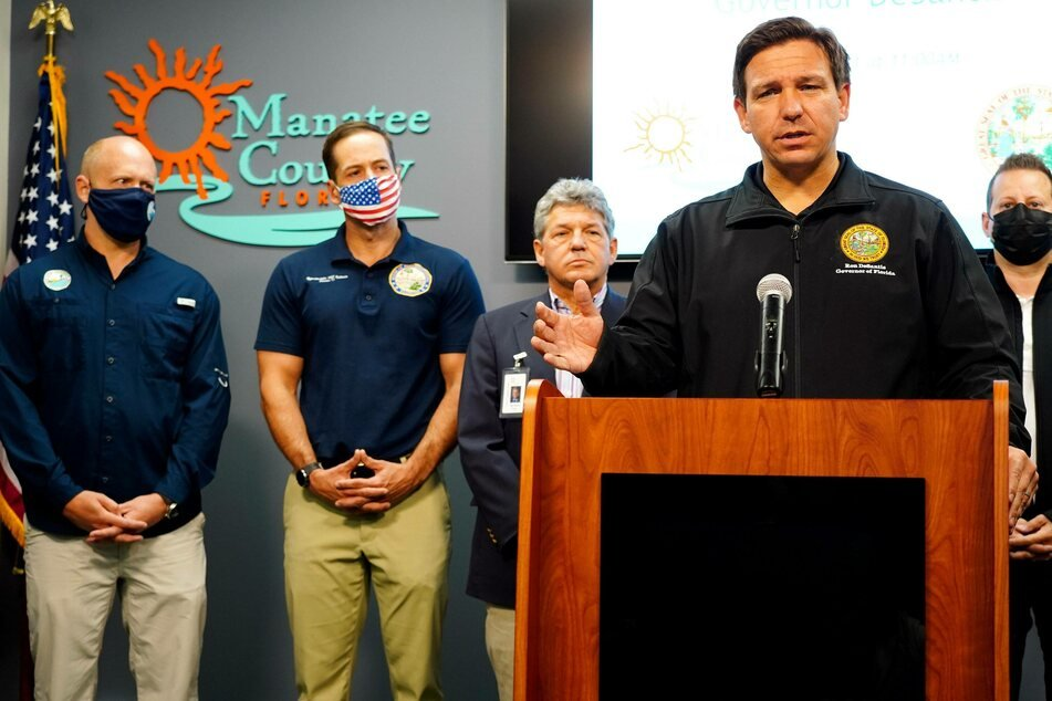 Florida Governor Ron DeSantis (42) has declared a state of emergency.