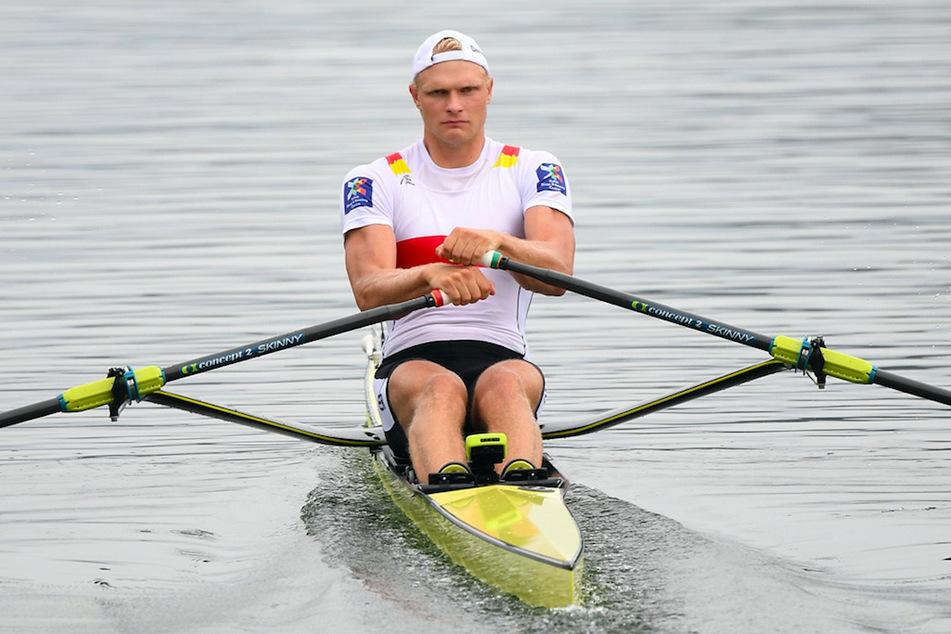 Oliver Zeidler aus Deutschland in Aktion.