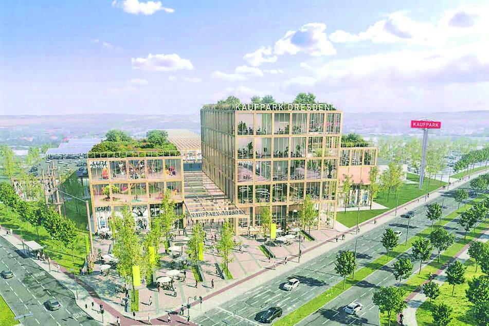 Dieses bekannte Dresdner Einkaufscenter wird künftig so aussehen