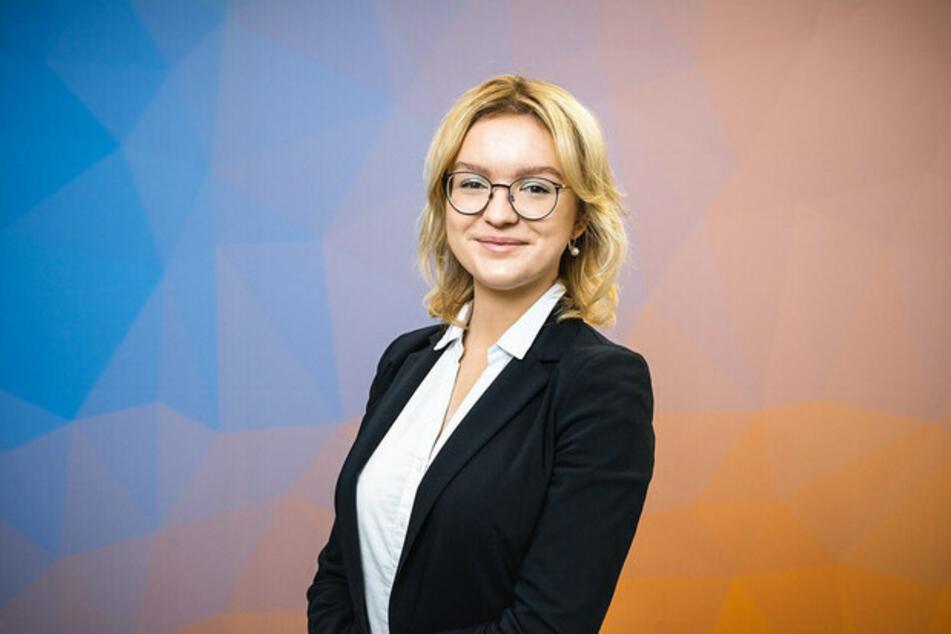 Joanna Kesicka, Landesschülersprecherin.