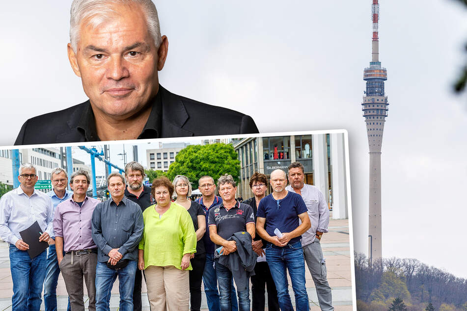 Dresden: Mehrheit für Öffnungdes Fernsehturms, Widerstand der Anwohner wächst