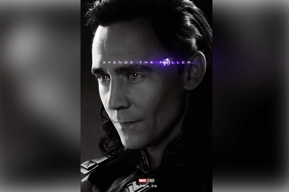 2019 poster for Avengers: Endgame after the death of Loki in Avengers: Infinity war.