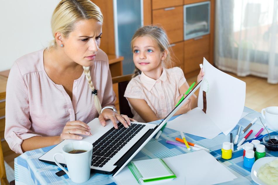 Stress und Depressionen sollten von Kindern möglichst fern gehalten werden.