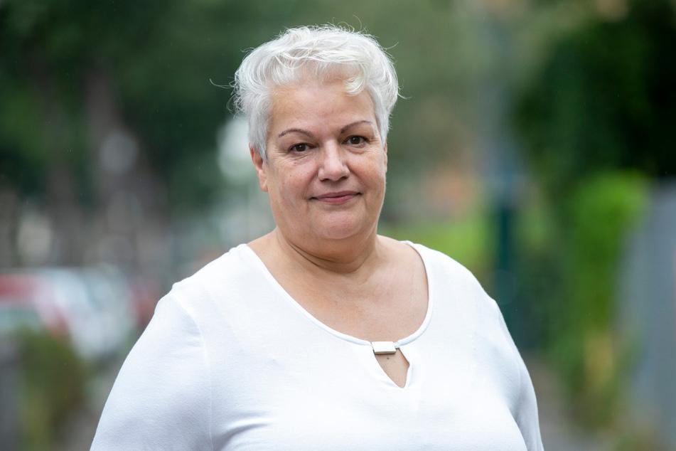 """Heidi Geiler (64) kämpft für """"Wasser im Sachsenbad""""."""