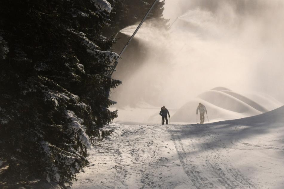 Skitourengeher in Not: Bergwacht rettet junges Pärchen