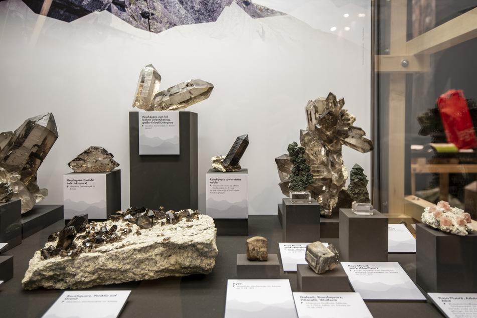 Die Terra Mineralia beherbergt mehr als 3500 Mineralien, Edelsteine und Meteoriten.