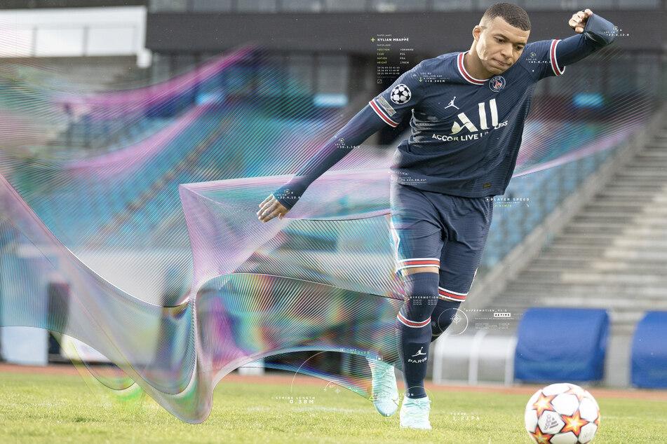 Superstar Kylian Mbappé (22) von Paris Saint-Germain ziert wie bereits im Vorjahr das FIFA-Cover.