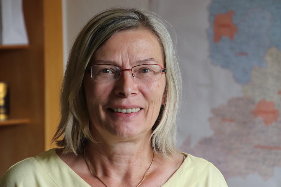 Andrea Hausmann, Referatsleiterin in Sächsischen Landesamt für Umwelt, Landwirtschaft und Geologie.