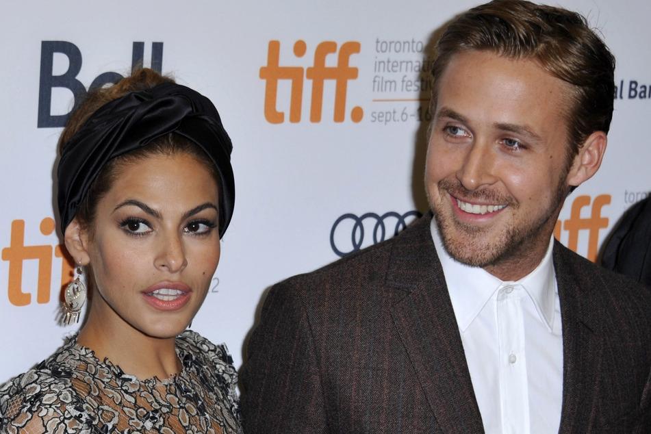 Eva Mendes (46) und Ryan Gosling (39): Seit ihren gemeinsamen Dreharbeiten 2011 ein Paar.