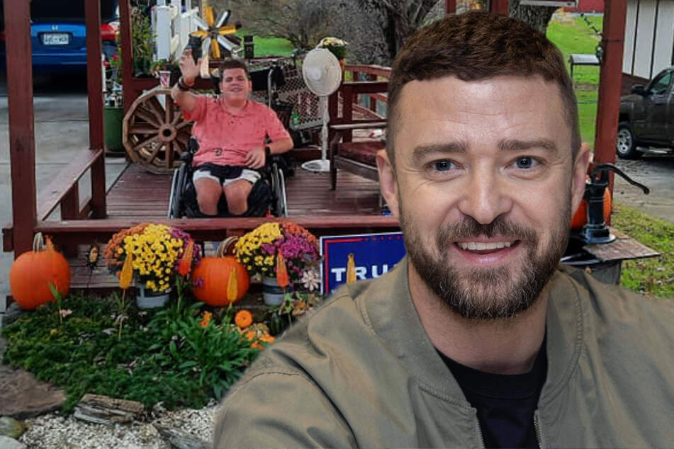 Justin Timberlake gifts disabled boy with a wheelchair-accessible van