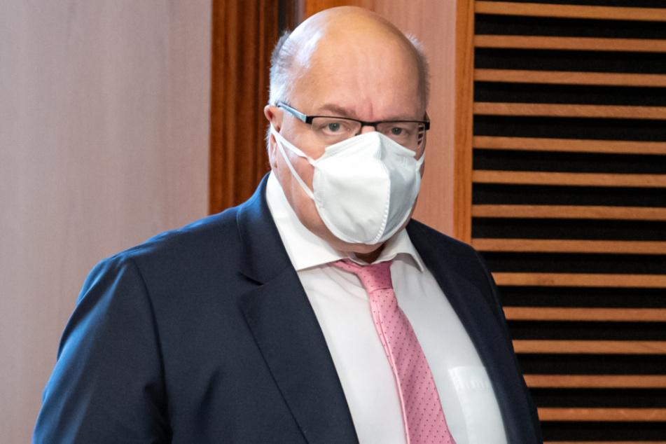 Bundeswirtschaftsminister Peter Altmaier (62).