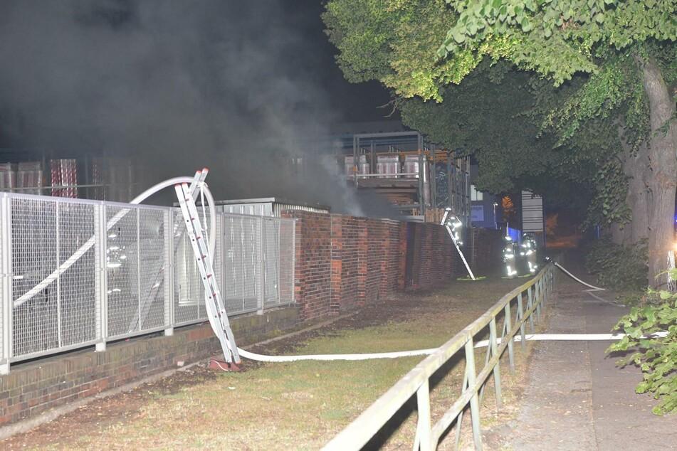 """Auf dem Gelände von """"Vonovia"""" hat es in der Nacht zu Freitag gebrannt."""