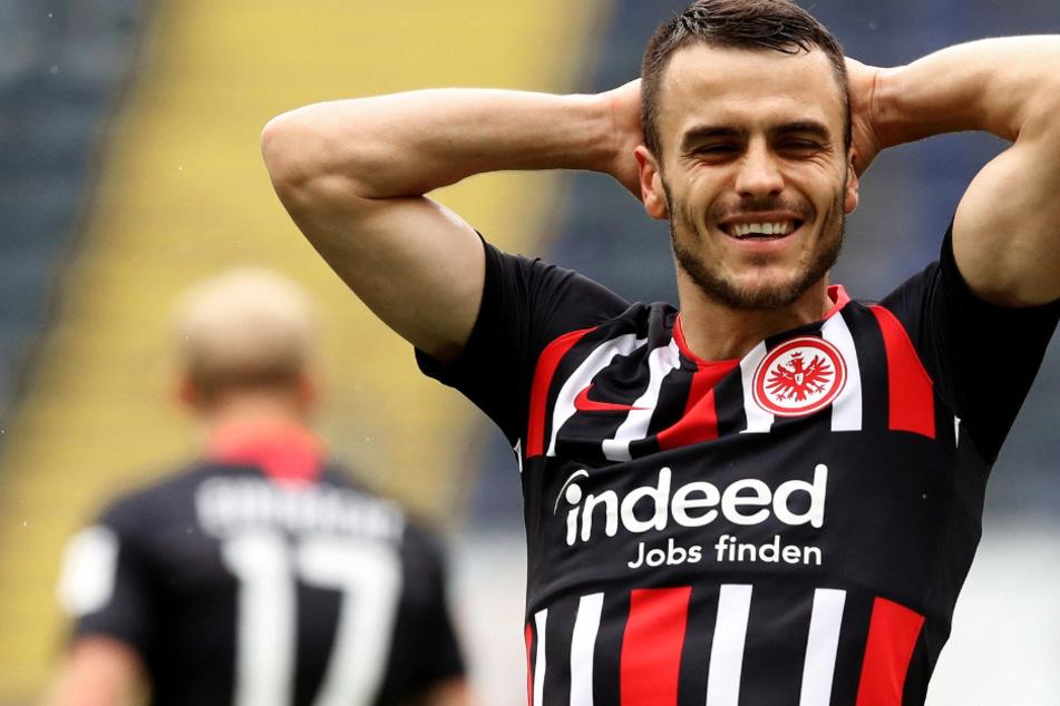 Das Foto aus dem Juni zeigt Flügelspieler Filip Kostic von Eintracht Frankfurt.