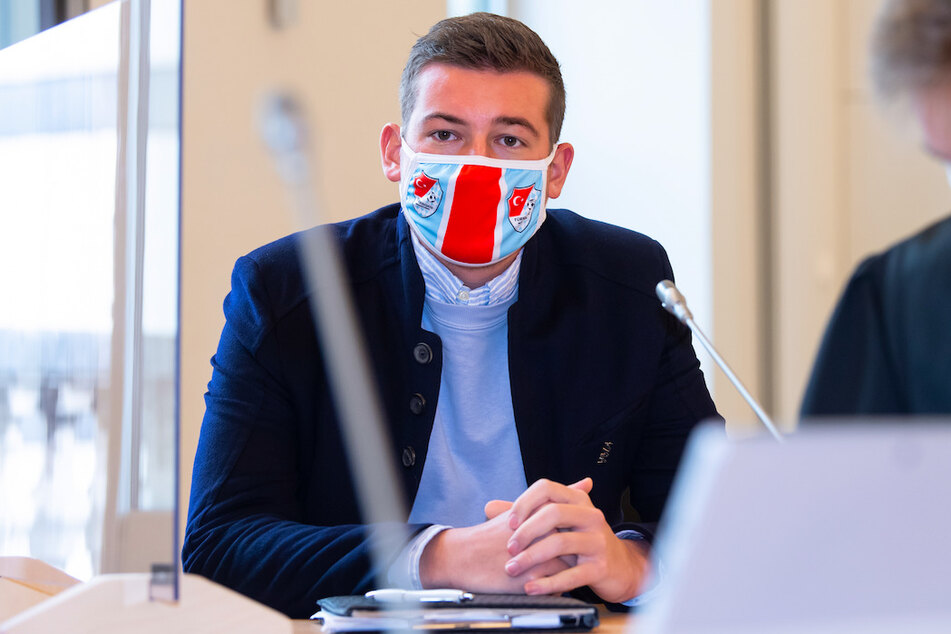 """Max Kothny, Geschäftsführer von Türkgücü München, will den Verein """"retten""""."""