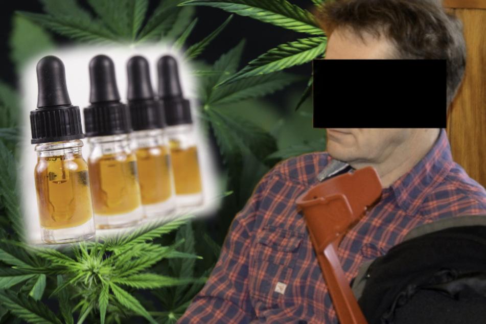 Er wollte Zeckenbiss-Schmerzen mit Cannabis heilen, nun muss er vor Gericht