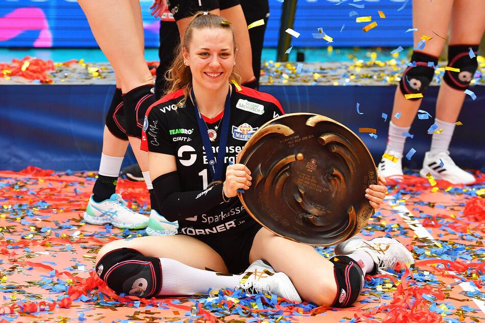 Maja Storck sah glücklich aus, als sie bekannt gab, in Dresden zu bleiben.