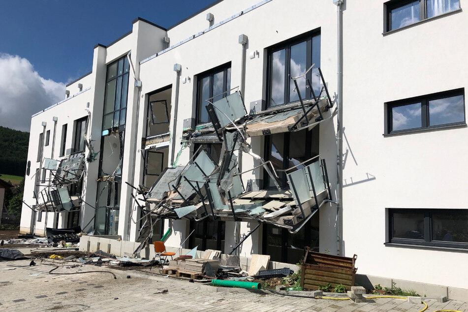 Die Schäden sind nach dem Vorfall enorm.