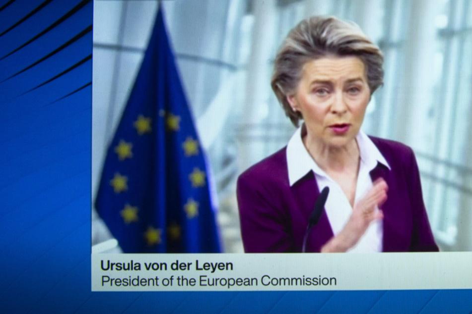 """Von der Leyen ermahnt Impfstoff-Hersteller: """"Jetzt müssen die Firmen liefern"""""""