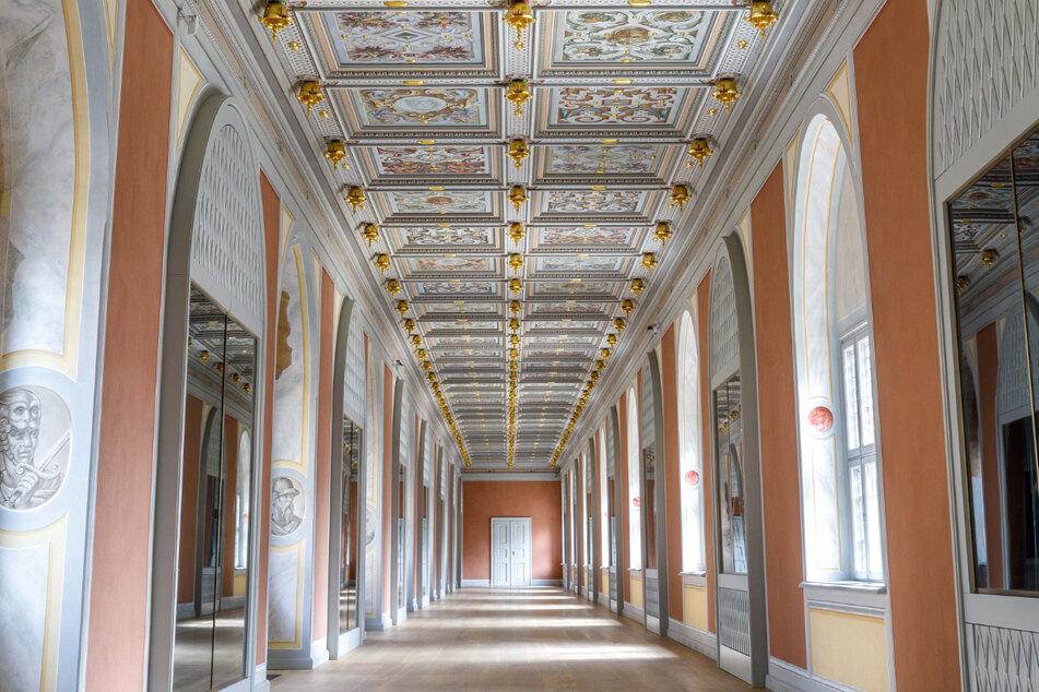 Der Raum sieht nun wieder fast genauso aus wie im Jahr 1733.