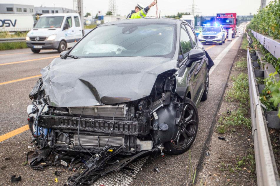 Unfall A81: Unfall auf der A81 sorgt für Stau im Morgenverkehr