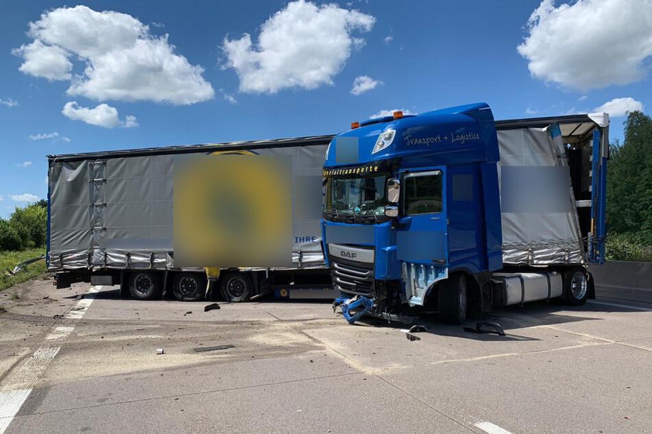Unfall auf der Autobahn: A5 gesperrt