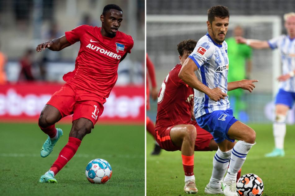 Myziane Maolida (22/l.) und Stevan Jovetic (31/r.) legten ebenfalls einen Traumstart in die Bundesliga hin.
