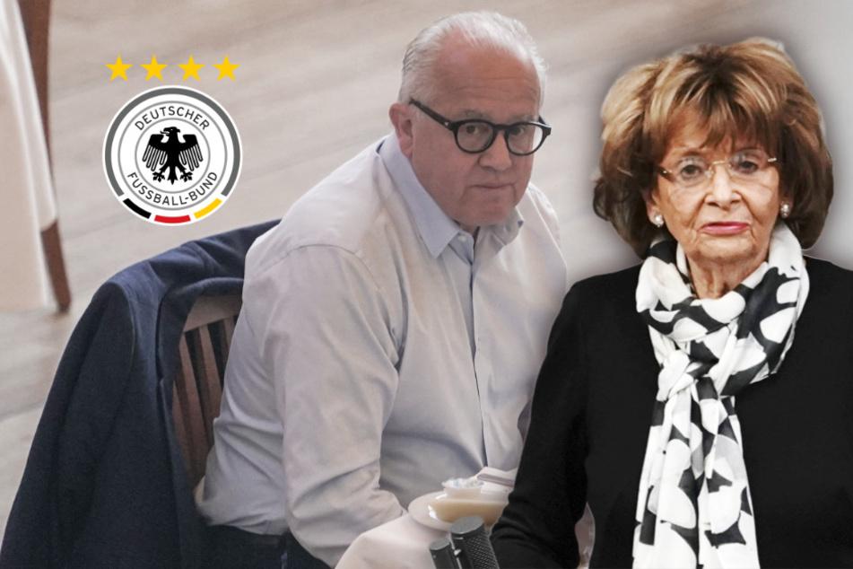 DFB-Präsident Fritz Keller versucht sich in Schadensbegrenzung: Treffen mit Charlotte Knobloch!