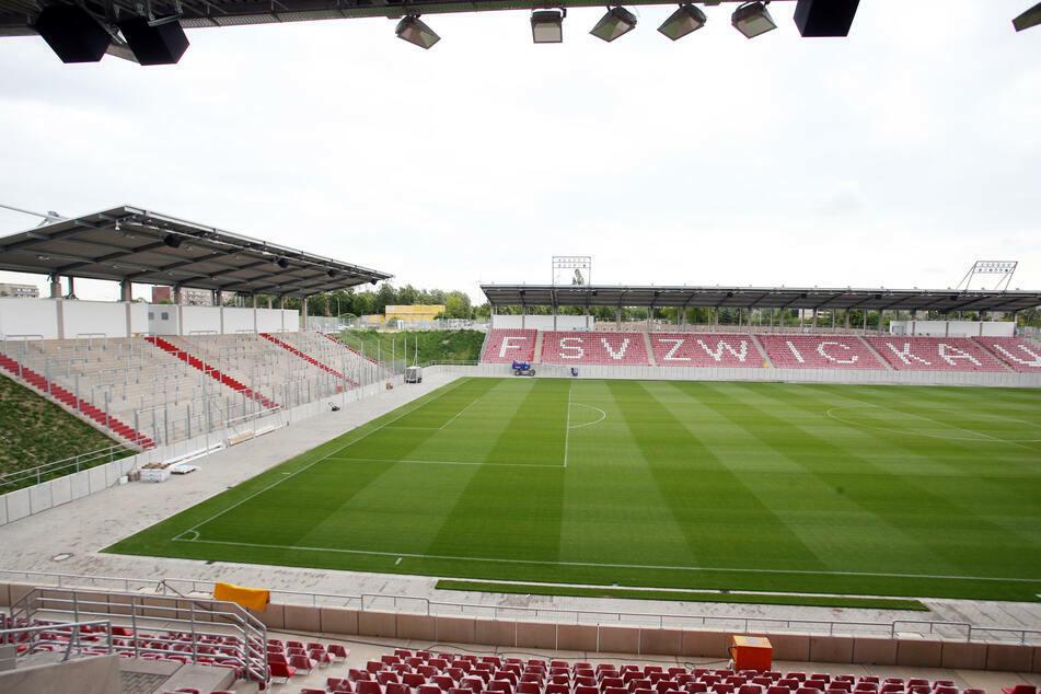 Das Zwickauer Stadion bleibt weiter leer.