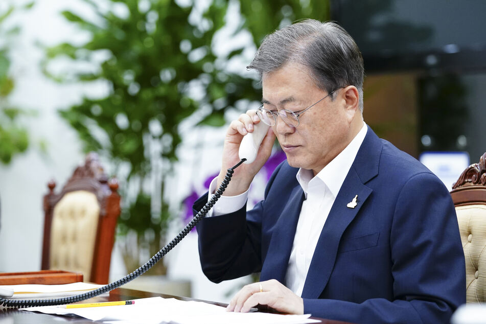 Moon Jae In, Präsident von Südkorea.