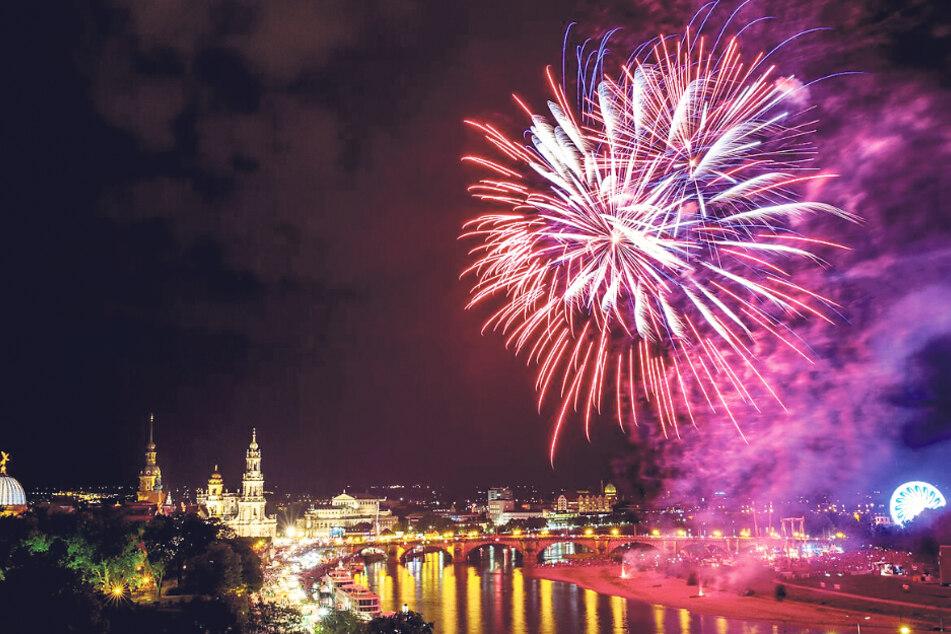 Gibt es in Dresden bald wieder mehr prachtvolle Feuerwerke?