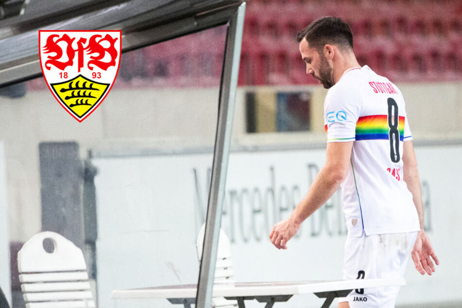 Aussortiert: VfB-Kapitän Gonzalo Castro ist enttäuscht