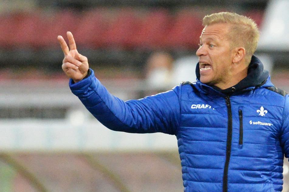 Markus Anfang (46) ist erst seit letztem Jahr Cheftrainer der Lilien. Wie es nun mit ihm weiter geht, ist unklar.