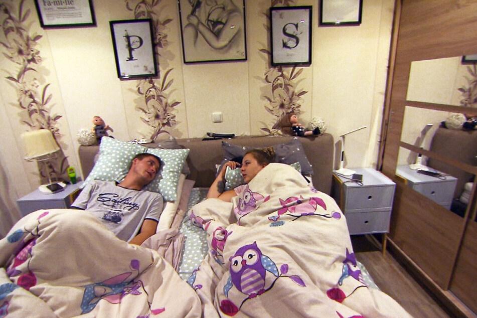 Ein Jahr nach der Hochzeit läuft es nicht mehr so gut zwischen Sarafina Wollny (25) und ihrem Peter (27).