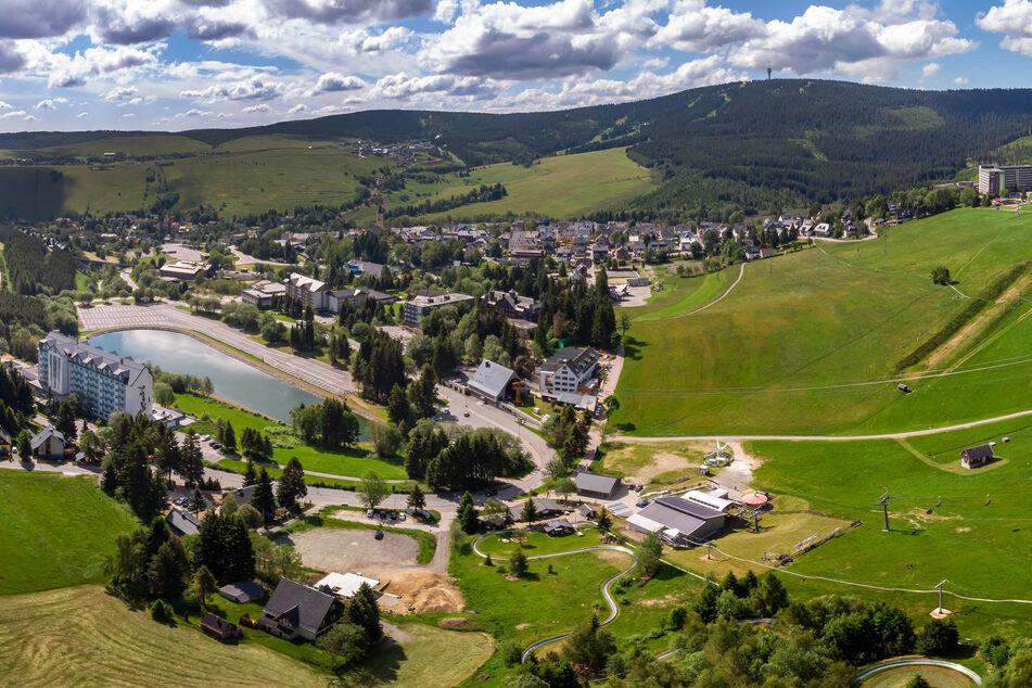 Der Kurort Oberwiesenthal ist der höchstgelegenste Kurort Deutschlands. Die Touristen blieben auch hier während der Corona-Beschränkungen mehrere Wochen aus.