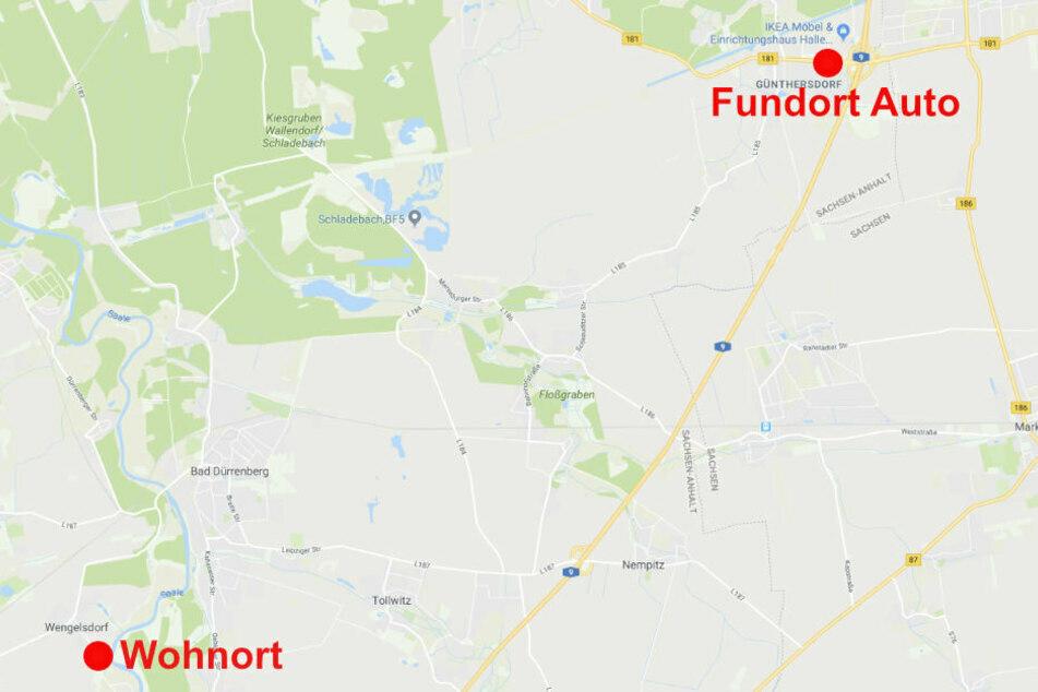 Von seinem Grundstück in Weißenfels-Wengelsdorf fuhr der damals 70-Jährige am späten Abend des 30. Juni 2017 los. Dreieinhalb Monate später wurde sein Auto mit anderen Kennzeichen auf einem Parkplatz in Günthersdorf gefunden.