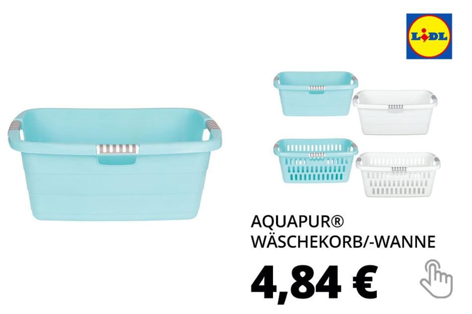 AQUAPUR® Wäschekorb/-wanne