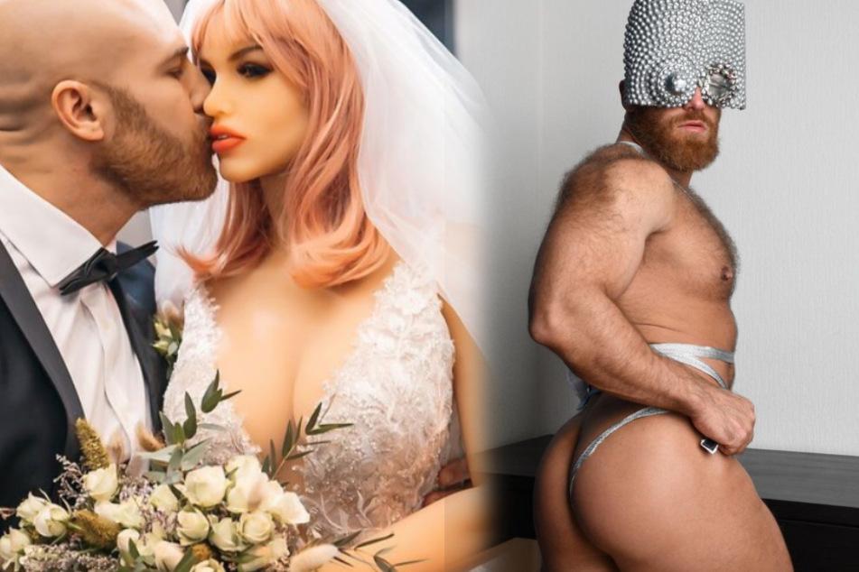 Verdächtiger Clip: Betrügt Bodybuilder Yuri etwa seine Frau?