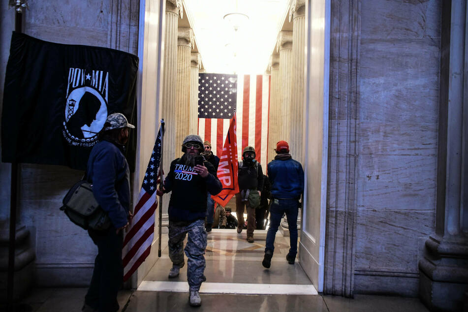 Biden called for a review of US domestic terrorism response on his first day in office, spurred in part by the January 6 Capitol riot.